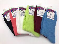 6 X Plain Blue Black Pink Green Wine cotton socks summer 4-7 adults shoe size