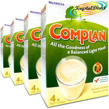 4x Complan Vanilla Nutrition Vitamin Supplement Protein Energy Drink 4x55g