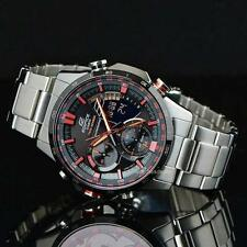 CASIO EDIFICE ERA300DB-1A ERA-300DB-1AV, SENSORS, SUPER ILLUMINATOR, BLACK x RED