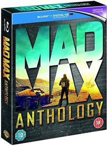 MAD MAX ANTHOLOGY COMPLETE MOVIE COLLECTION 4 DISC BOX SET BLU-RAY RB NEW&SEALED