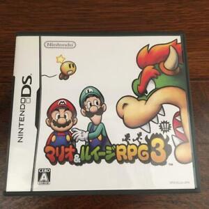 used Mario & Luigi RPG 3 DS Nintendo Computer RPG NTSC-J (Japan)