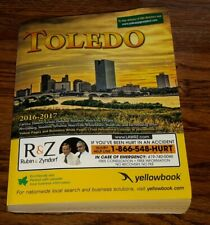 TOLEDO OHIO CITY DIRECTORY-Address-number TELEPHONE PHONE BOOK 2016 YELLOW PAGES
