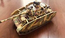 Collectors showcase 60mm WW2 German Panzer PZKFW.IV AUSF.G #CS00433 3 figs MIB