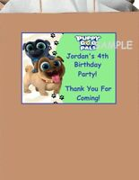 18 Personalized Puppy Dog Pals inspired Party Stickers,Birthday favors,labels
