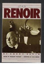 Jean Renoir by Andre Bazin ed by Francois Truffaut w forward by Renoir Like New
