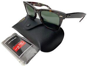 Ray Ban RB2140 1146 Tortoise Madras Plaid Wayfarer Sunglasses 50[]22 3N