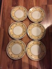 6 Lovely Churchill Port Of Call 26Cm Dinner Plates