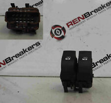 Renault Laguna 2001-2005 Drivers OSF Front Rear Window Switch Brown 015085