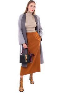 RRP€2440 GUCCI SYLVIE Leather Satchel Bag Web Stripe & Chain Trim Bow Top Handle