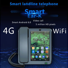 Smart LTE 4G Fixed Wireless landline Android 6.0 with 4G SIM network videophone