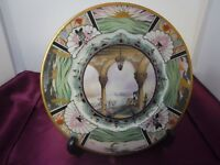 Vintage 1930's Lamberton Scammell China Boca Raton Club Plate Art Deco Design