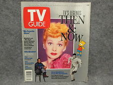 TV Guide 2000th Issue Commemorative Edition July 27-August 2 1991 Then & Now