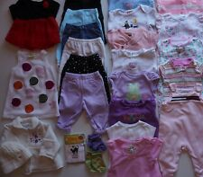 Baby Girls Size 3-6 Months Fall Clothes Lot of 26 Items L4-19
