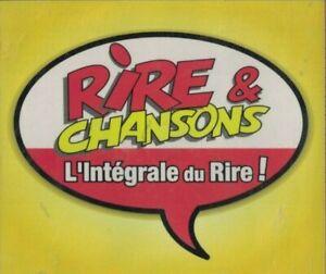 4 CD RIRE ET CHANSONS L'INTEGRALE DU RIRE
