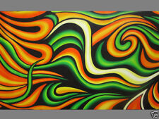 Multicoloured Abstract Aboriginal Art