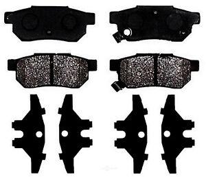 Rr Ceramic Brake Pads  ACDelco Professional  17D374C