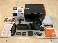 SONY Alpha a7R 36.4Mp & Sony FE 28-70 f3.5-5.6 LENS+ Sony Vertical Battery Grip