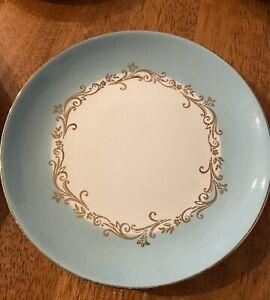 Vintage Homer Laughlin Lifetime China Co Gold Crown dinner & dessert plates Set
