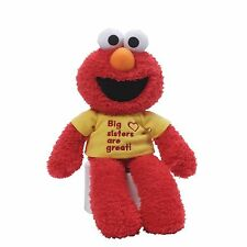 Gund Sesame Street Elmo hermana Camiseta Felpa Suave Juguete Nuevo 25404