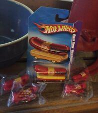 2009 Hot Wheels Oscar Mayer WienerMobile.. Plus Four Oscar Mayer Whistles