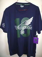 Ralph Lauren Men's Navy Wimbledon T Shirt New with Tags Size L