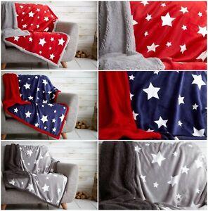 Teddy Super Soft Throw Fleece Blanket Sofa Bed Throw Large Soft Luxury All Sizes