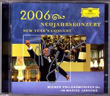Mariss JANSONS Signed Neujahrskonzert aus Wien 2006 New Year Concert Vienna 2CD