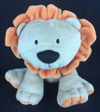 Just One Year Tan Orange Lion Plush Carter's 8""