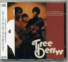Treeberrys - Come To Play CD Ron Ron Clou Switch Trout Automatics Japan Powerpop