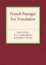 French Passages for Translation: By Ritchie, R. L. Graeme Simons, Claudine I.