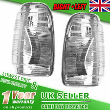 For Ford Transit Mk8 Wing Mirror Indicator Lens Cover Clear RIGHT+LEFT Together