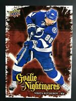 2016-17 Upper Deck Goalie Nightmares Nikita Kucherov