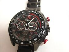 Citizen CA4195-51E Eco-Drive  Men's Chronograph Black Watch / Missing Band Link