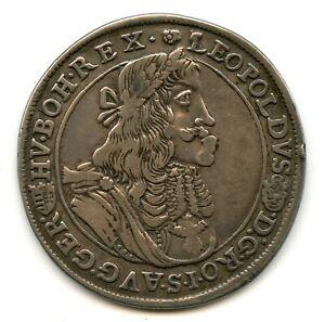 Genuine Silver 1682 Austria Thaler | VF Condition