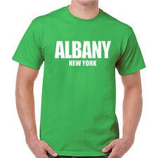 Albany - New York U.S Cities Series T-shirts 100% Cottom Quality Tee