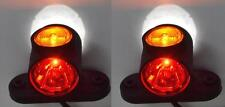 2 x court 24V FEUX DE POSITION E9 marque pour camion benne VOLVO MAN SCANIA