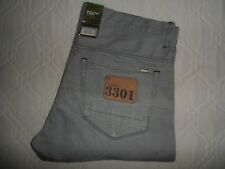 "NEW G-STAR RAW 3301 Mens Jeans Denim Straight Leg SIZE Waist 38"" Leg 34"" W38 L34"