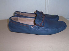 Bally Gray Leather Loafer / Mocassin Shoe Men Size 9.5 / 11M US Made in ITALY