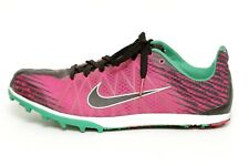 Nike Womens Pink Green Track and Field Shoes Size 9