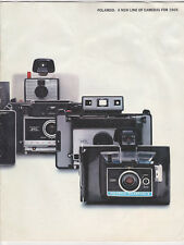 1969 Polaroid-A New Line Of Cameras Book-Instant Photography Camera Guide-Manual