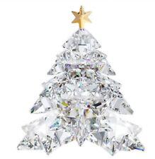 NIB $399 Swarovski Christmas Tree Shining Star Clear Tree Golden Star #1139998
