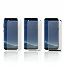 3D SAMSUNG S7 Edge,S8/S9 Plus [CASE FRIENDLY] TEMPERED GLASS SCREEN PROTECTOR