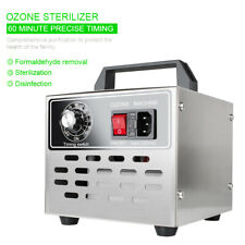 Portable 10000mg/h Ozone Generator Air Purifier Machine Disinfection Timer 100W