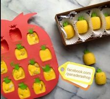 1pc Fresh Pineapple Fruit Chocolate Fondant Clay Jelly Soap Silicone Mold Molder