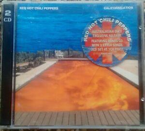 RED HOT CHILI PEPPERS ~ 2 CD AUSTRALIAN ED. BONUS TRACKS ~ CALIFORNICATION
