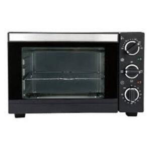 SilverCrest 15L Mini Oven Black Table Top Grill Baking Cooker Kitchen