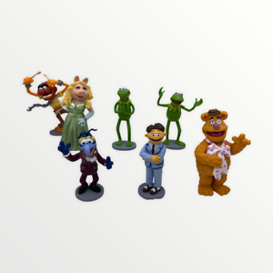 The MuppetsPVC Figures Cake Toppers Set of 7 Figures Walter Miss Piggy Fozzie