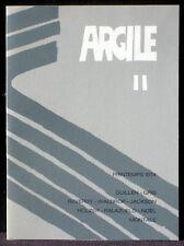 Revue Argile II 2 printemps 1974 Maeght EX +