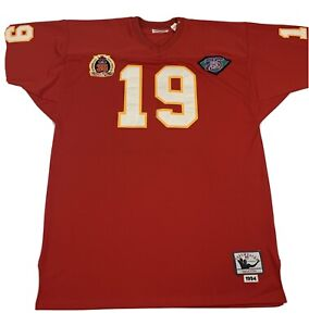 Joe Montana NFL Vintage 1994 Mitchell & Ness Jersey 19 Throwback Size 52 Red NWT
