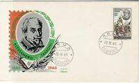 Italy 1965 Roma Cancel 400 Years Alessandro Tassoni  FDC & Stamp Cover ref 22470